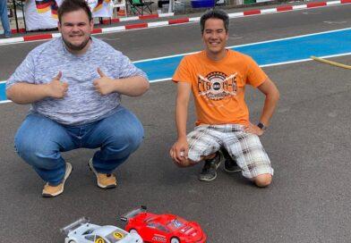 Sieg im B-Finale bei der Deutschen Meisterschaft in Bernau für Dai Sakaguchi